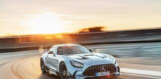 Her er det sjette medlemmet i Black Series, og denne gang stammer bilen fra en Mercedes-AMG GT. (Fotos: Mercedes)