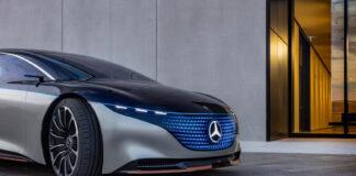Mercedes kommer med sitt elektrisk flaggskip neste år, og rekkevidden blir også premium. (Fotos: Mercedes)