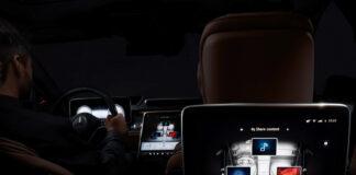 Det er nok av skjermer i den kommende Mercedes S-klasse. (Fotos: Mercedes)