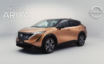 Her er en helt ny elbil fra Nissan, Ariya. (Fotos: Nissan)