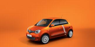 Renault viser nå en spesialutgave av den kommende Twingo Electric. (Fotos: Renault)