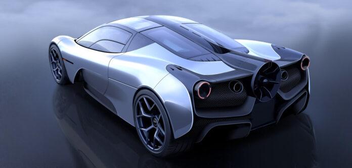 Denne superbilen har en særdeles imponerende motor. (Fotos: Gordon Murray Automotive)