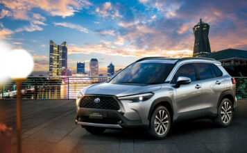 Toyota har nå lansert en SUV-utgave av Corolla. (Fotos: Toyota)