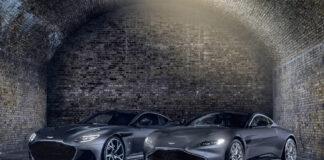 Aston Martin slår til med to spesialutgaver i forbindelse med den nye James Bond-filmen. (Fotos: Aston Martin)