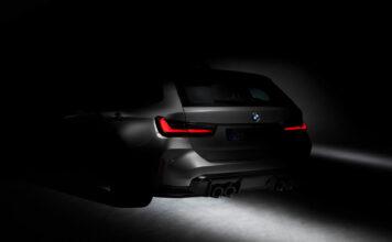 Dette er en virkelig stor nyhet, for i skyggene lurer det nemlig en BMW M3 Toring. (Foto: BMW)