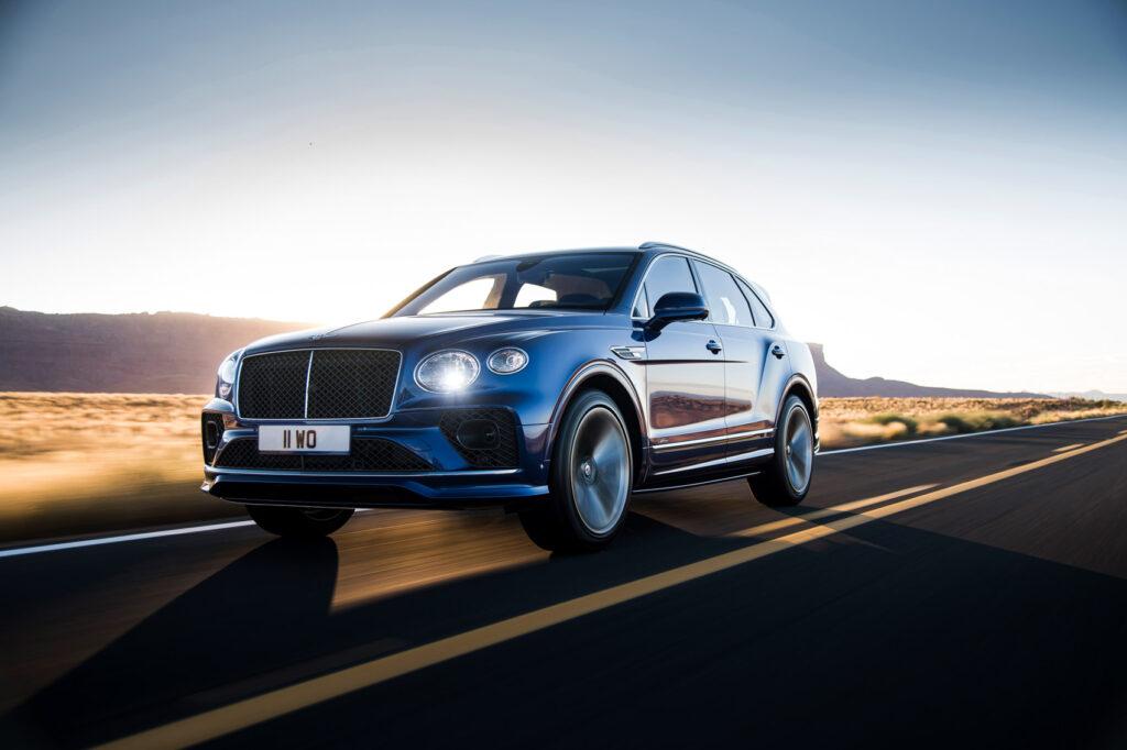Her er en ny versjon av Bentley Bentayga Speed.