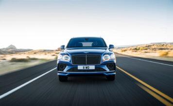 Bentley har klar en ny versjon av Bentayga Speed, verdens raskeste SUV. (Fotos: Bentley)