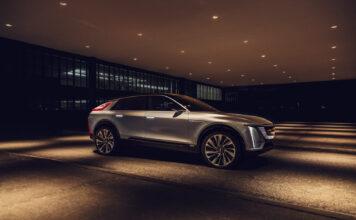 Cadillac har vist fram sin aller første elbil, og den er bokstavelig talt lyrisk. (Fotos: Cadillac)