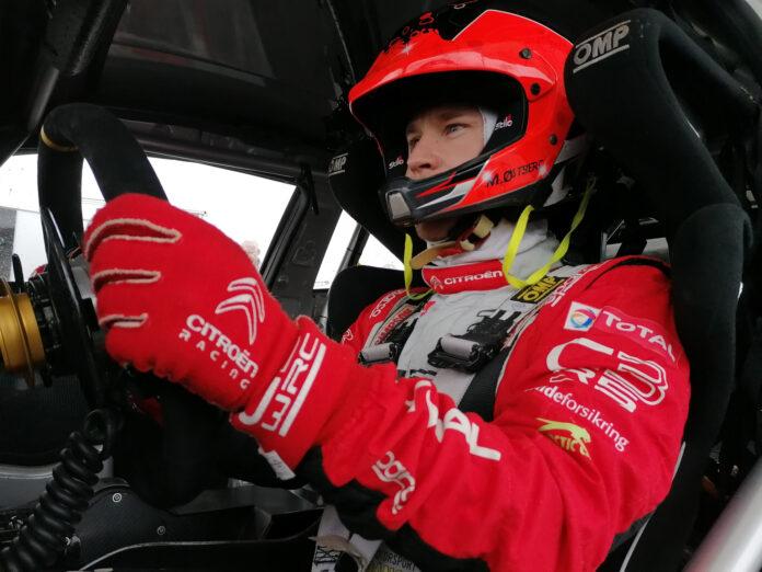 Mads Østberg blir historisk når rallycross-VM også byr på en helelektrisk klasse. (Fotos: Citroën)