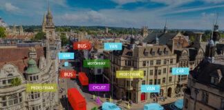 Ford kobler sammen bilene med sensorer i London-trafikken, og skal på den måten finne ut hvordan og hvorfor trafikkulykkene skjer. (Foto: Ford)