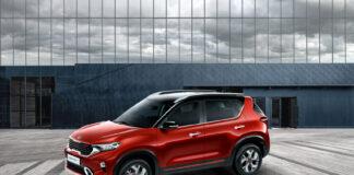 Kia viser nå en ny kompakt SUV som er laget i India. (Fotos: Kia)