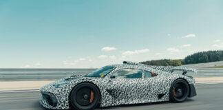 Merdedes-AMG Project One nærmer seg nå produksjon. (Fotos: Mercedes)