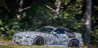 Det er AMG-avdeling som skal lage den nye generasjonen av Mercedes SL. (Fotos: Daimler)