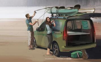 Volkswagen har på gang en ekte Mini-Camper. (Fotos: VW)