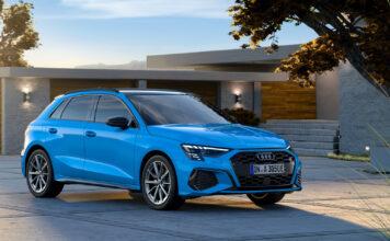 Den nye Audi A3 får også en ladbar versjon, og den elektriske rekkevidden er av den gavmilde sorten. (Fotos: Audi)