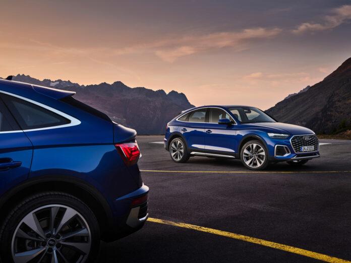 Audi har også på gang en Sportback av nye Q5. (Fotos: Audi)