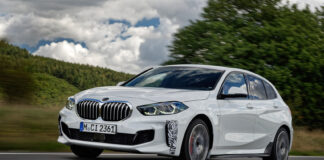 BMW har klar et nytt kjøreglad familiemedlem i 1-serie, BMW 128ti. (Fotos: BMW)