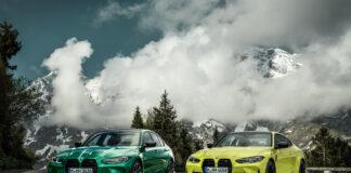 Det er to potente søstre på gang, nemlig BMW M3 Sedan og BMW M4 Coupé. (Fotos: BMW)