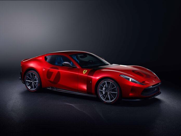 Dette er en helt unik Ferrari, og det tok to år å lage den. (Fotos: Ferrari)