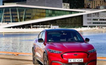 Ford Norge har nå åpnet for bestillinger av elbilen Mustang Mach-E. (Fotos: Ford)