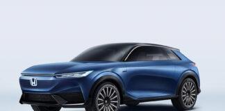 Her er en ny elbil fra Honda, konseptet SUV e. (Fotos: Honda/Newspress)