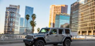 Jeep Wrangler kommer snart som ladbar hybrid. (Fotos: Jeep)