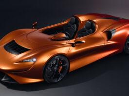 Det er mulig å skremme fanden på flatmark med en McLaren Elva, spesielt om du velger riktig farge. (Fotos: McLaren)