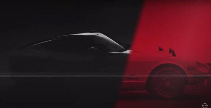 Nissan avduker en ny Z-modell neste uke. (Fotos: Nissan)