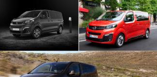 Prisene er klare for de elektriske trillingene Citroën ë-Spacetourer, Opel Zafira-e Life og Peugeot e-Traveller. (Fotos: PSA)