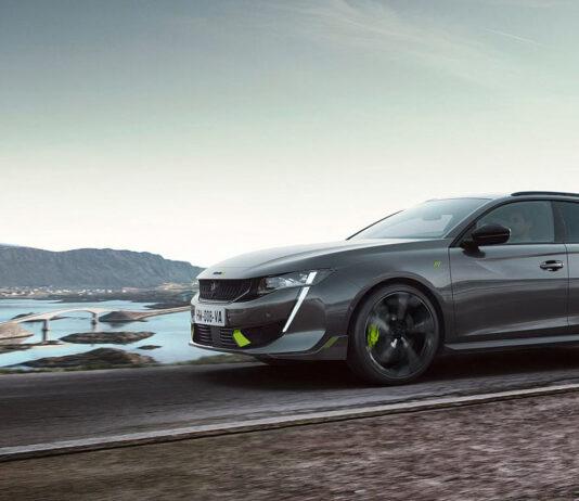 Peugeot har på gang en bil som visker ut skillet mellom gatebiler og racerbiler enda litt mer. (Fotos: Peugeot)