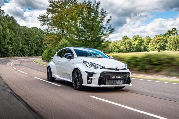 Toyota har startet opp produksjonen av GR Yaris, en versjon inspirert av bilen som ble verdensmester i rally i 2019. (Fotos: Toyota)