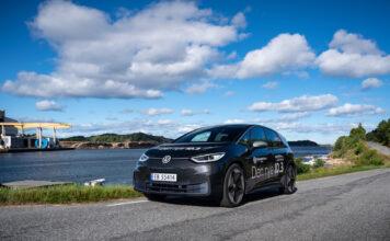 Volkswagen har tatt spranget inn i den nye æra med elbilen ID.3, som nok raskt blir en norsk favoritt. (Foto: Nybiltester/SB Automotive)