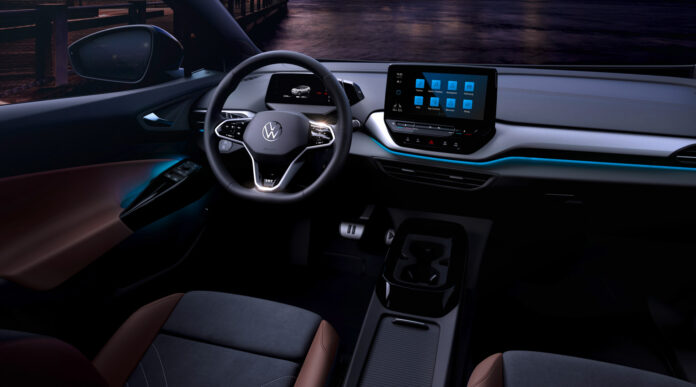 Slik ser Volkswagen ID.4 ut på innsiden. (Fotos: Volkswagen)
