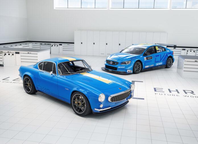 Cyan Racing har laget en moderne utgave av klassikeren Volvo P1800. (Fotos: Cyan Racing)