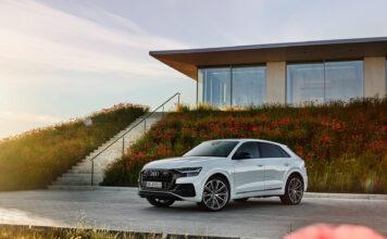 Audi lanserer sin sjuende ladbare hybrid siden i fjor sommer, og denne gang handler det om flaggskipet Q8. (Fotos: Audi)