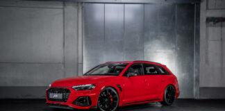 En Audi RS 4 er en av de absolutte favorittbilene til ABT, og nå har de klar en ny utgave. (Fotos: ABT)