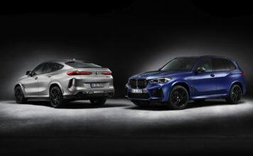 Ett år etter at BMW X5 M og X6 M ble lansert, kommer førsteutgavene. (Fotos: BMW)
