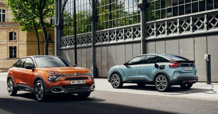 Citroën ë-C4 kommer til Norge i år, og har fått en startpris på langt under 300.000 kroner. (Fotos: Citroën)