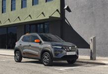 Dacia har snart klar sin første elbil, en kompakt SUV kalt Spring Electric. (Fotos: Dacia)