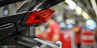 Ducati har utviklet et nytt sett med førerassistenter som er basert på radarer både framme og bak. (Fotos: Ducati)