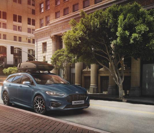 Ford kutter nå ut den rene bensinutgaven til Mondeo, som kun blir tilgjengelig som hybrid. (Fotos: Ford)