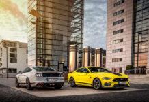 Ford kommer snart med en Mustang Mach 1 som også skal selges i Europa. (Fotos: Ford)