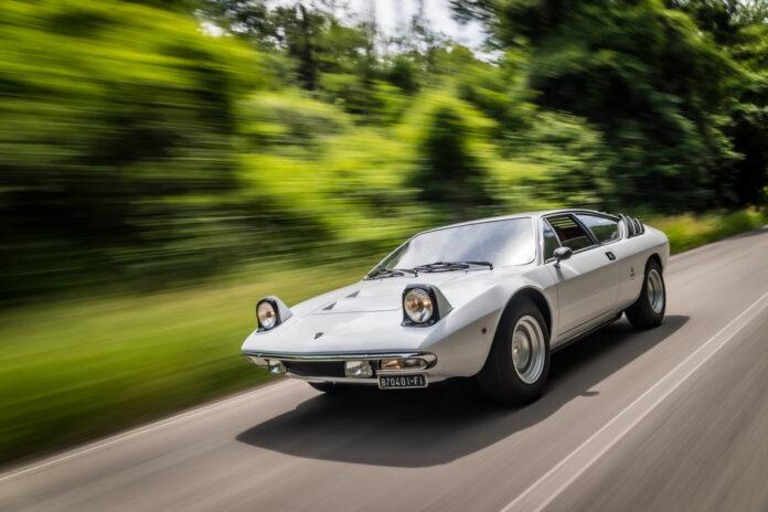 Det er 50 år siden Lamborghini presenterte en helt ny modell kalt Urraco. (Fotos: Lamborghini)