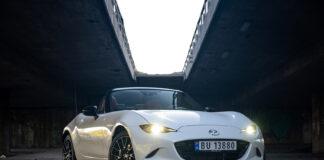 Det er ikke vanskelig å forstå hvorfor Mazda MX-5 er en populær bil. (Fotos: Nybiltester)