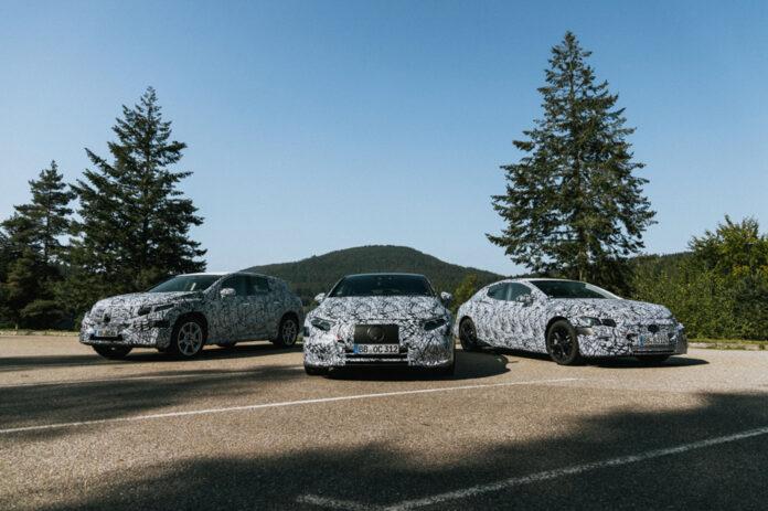 Mercedes kommer med ikke færre enn seks nye elbiler i 2021, inkludert flaggskipet EQS. (Fotos: Mercedes)