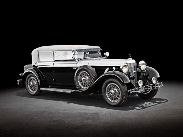 I 1930 kom Mercedes en bil som virkelig skapte oppsikt, 770 Grand Mercedes. Her versjonen Cabriolet D. (Fotos: Mercedes)