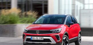 Nye Crossland blir den første med Opels nye frontdesign kalt Vizor. (Fotos: Opel)