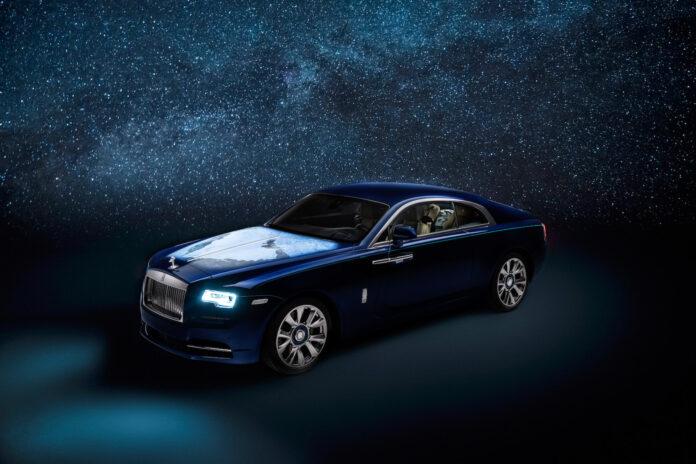 Dette er en Rolls-Royce Wraith som hyller jordkloden og livet. (Fotos: Rolls-Royce)