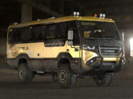 Dette er en ganske så sprø skolebuss. (Fotos: Torsus)