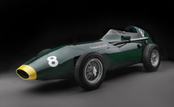 Se for en fantastisk retro-modell! (Fotos: Vanwall)